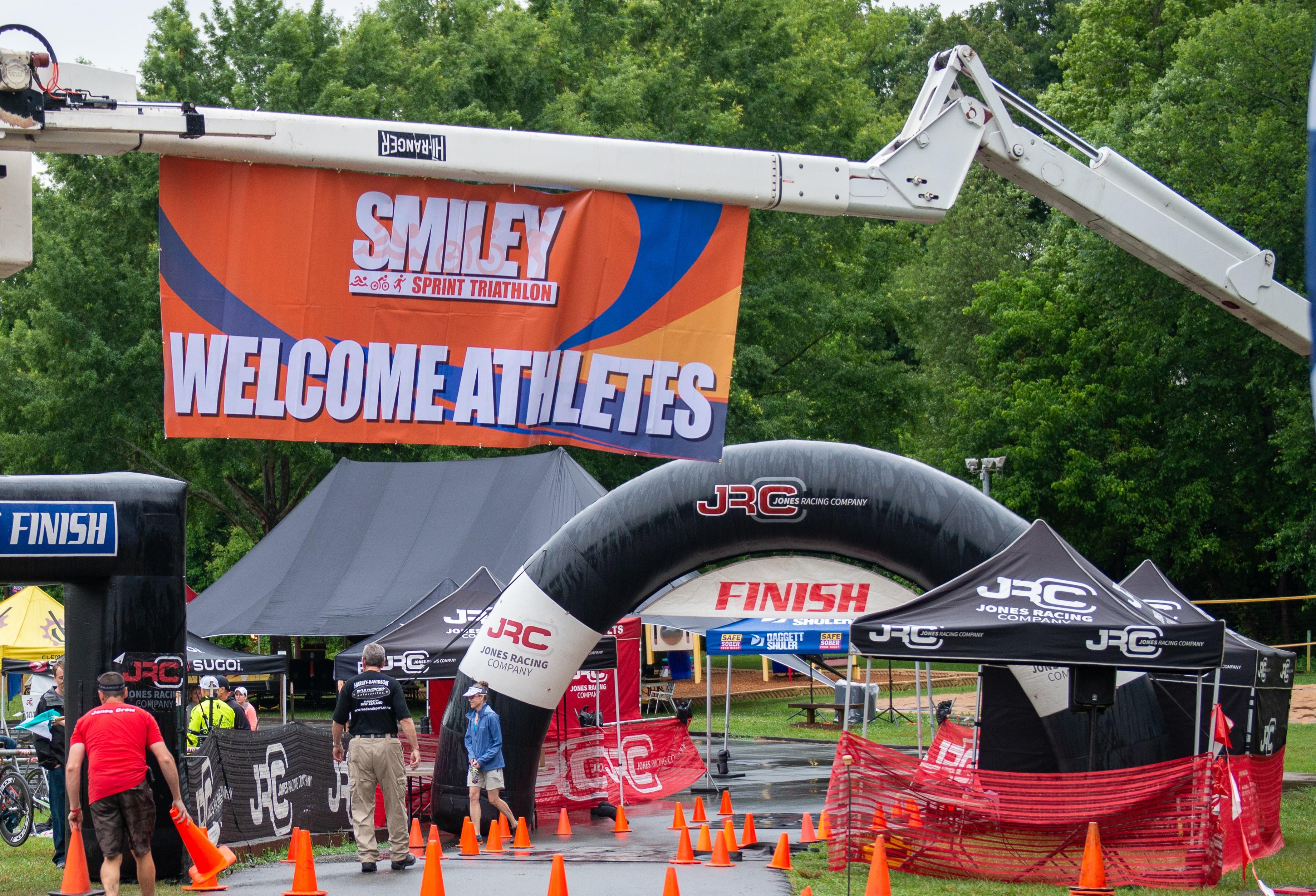 Smiley Sprint Triathlon